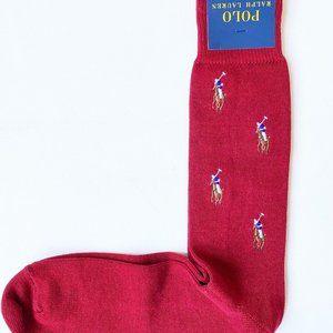 POLO Ralph Lauren Pony Print Socks Indigo